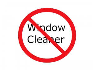 No Window Cleaner