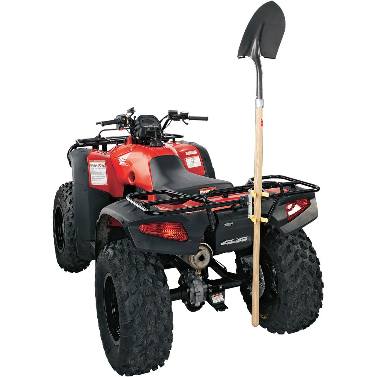 Rig your wheeler to make work easier this spring dennis for Garden tools for 4 wheeler